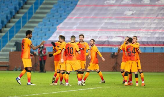 Galatasaray, Trabzonspor'un yenilmezlik serisini bitirdi