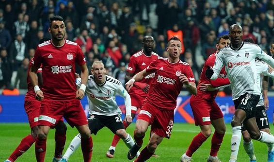 Beşiktaş ile Sivasspor 29. randevuda