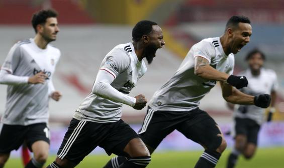 Süper Lig'in yeni lideri Beşiktaş