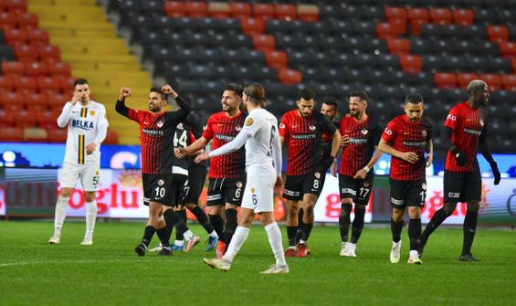 Gaziantep FK, Ankaragücü engelini 2 golle aştı