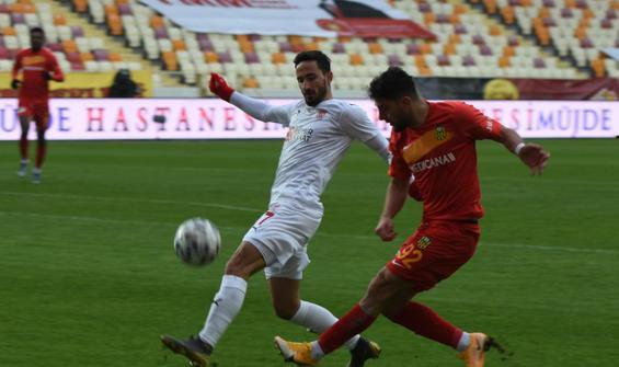 Malatya'da 4 gol var, kazanan yok