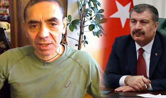 Bakan Koca, Prof. Dr. Uğur Şahin ile görüştü