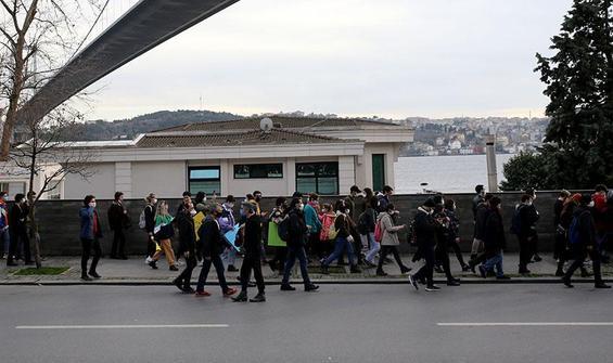 Boğaziçi'ndeki gösterilerde gözaltına alınan 24 kişi serbest