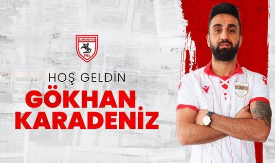 Samsunspor'da Gökhan Karadeniz imzayı attı