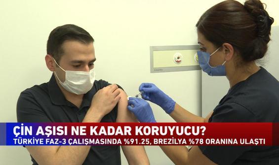 Haber Global muhabiri aşı gönüllüsü oldu