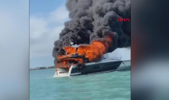 Florida Keys adasında lüks yatta yangın: 2 yaralı
