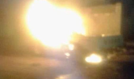 Aden'de askeri araçta patlama