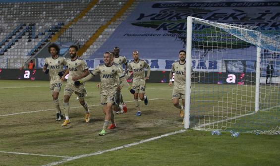 Fenerbahçe, Erzurum deplasmanında rahat kazandı