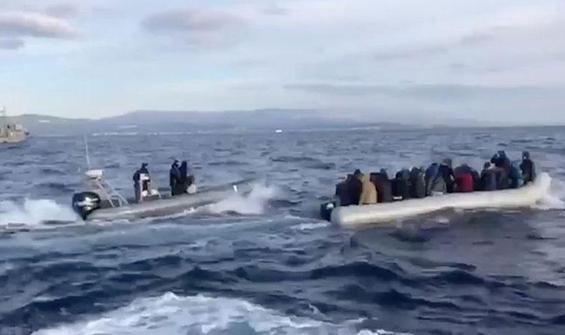 AB, Ege'de göçmenlerin geri itilmesiyle ilgili düğmeye bastı