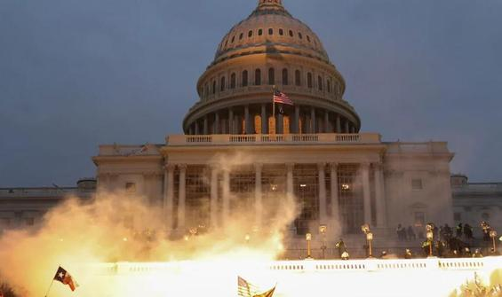 ABD'de kongre baskını sonrası Kovid-19 patlaması!