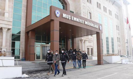 Sınav için kopya düzeneği hazırlayan 9 şüpheliye gözaltı