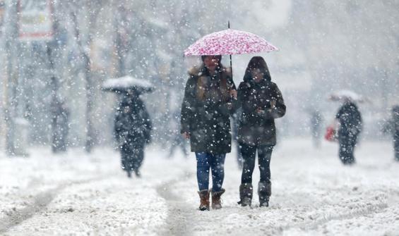 13 il için kar yağışı uyarısı