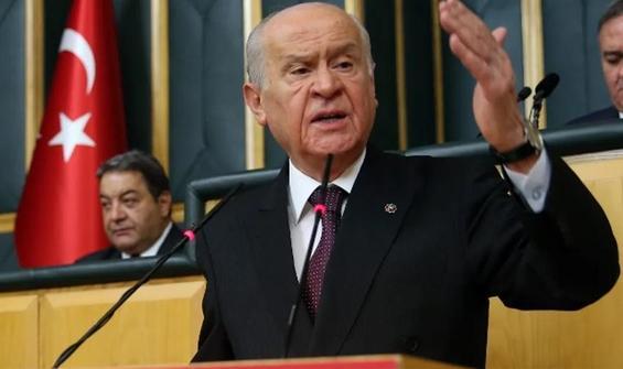 MHP Lideri Devlet Bahçeli'den zehir zemberek açıklamalar