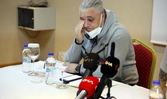 Rumen teknik adam gözyaşlarına engel olamadı