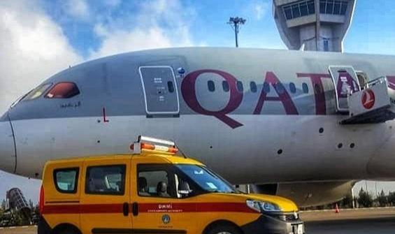 Uçakta koronavirüs paniği! Şanlıurfa'ya acil iniş yaptı