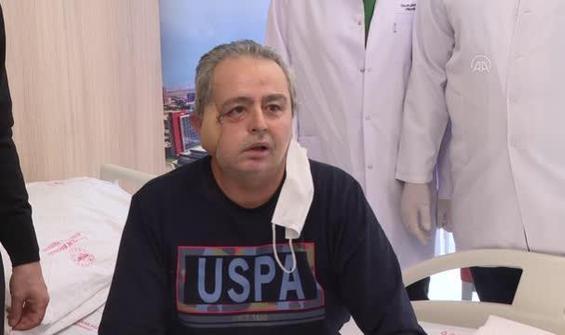 Kanser hastasına yeni yüz yapıldı