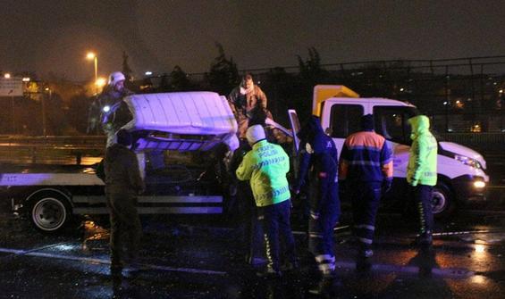 Haliç Köprüsü'nde feci kaza: 2 ölü