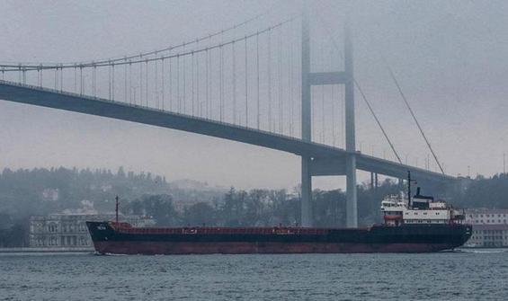 Boğaz'da gemi geçişleri askıya alındı