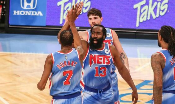 Harden, Brooklyn Nets kariyerine rekorla başladı