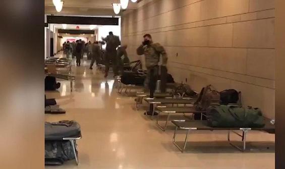 Kongre kışlaya döndü, askeri sedye yığdılar!