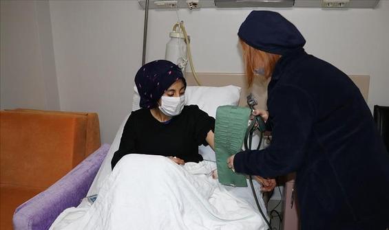 Hapşırma nöbeti geçiren çocuk tedavi altına alındı