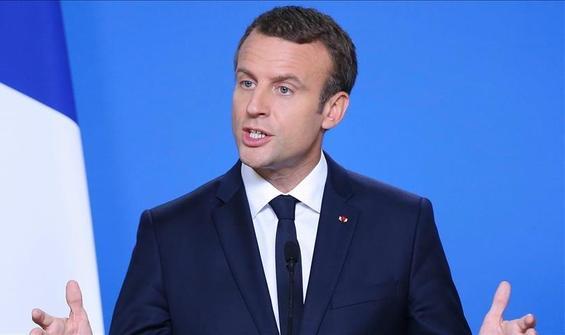 Macron, İslam Konseyinin temsilcileriyle görüştü