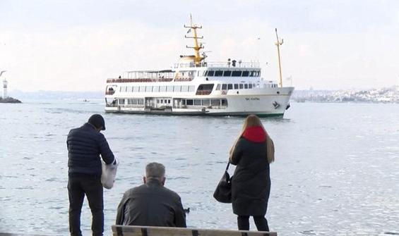 Kadıköy-Adalar vapurunda hareketli dakikalar!