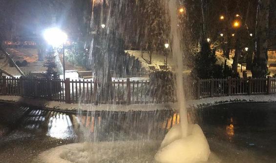 Ankara buz tuttu, -17 derece görüldü