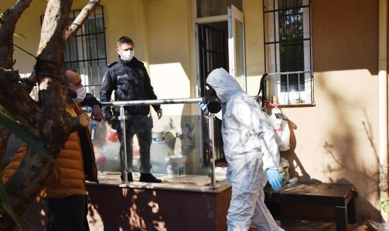 Antalya'da şüpheli ölüm! Başında ve duvarda kan görüldü