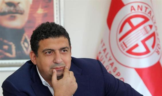 Antalyaspor'da şok istifa