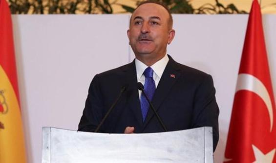 Çavuşoğlu, İspanya'nın Ankara Büyükelçisi ile görüştü