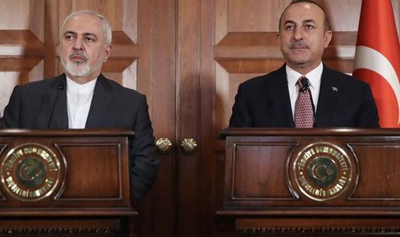 Bakan Çavuşoğlu, İranlı mevkidaşı ile görüştü