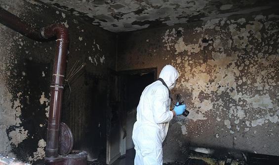 Yangında 2 çocuk hayatını kaybetti