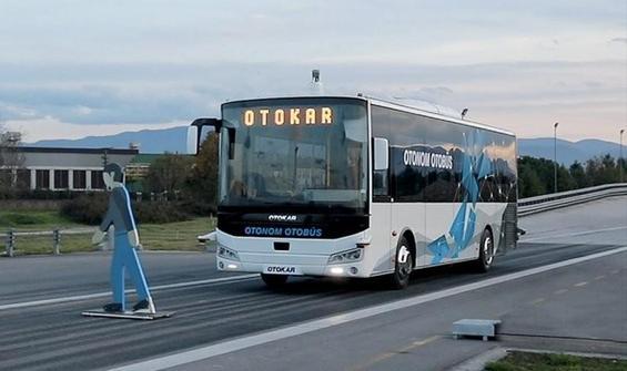 """""""Türkiye'nin sürücüsüz otobüsü"""", testleri başarıyla geçti"""