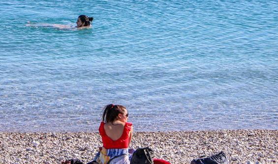 Fotoğraf bugün Türkiye'de çekildi! Kış güneşi yazı aratmadı