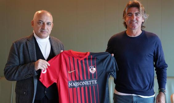 Gaziantep FK'da Sa Pinto dönemi başladı