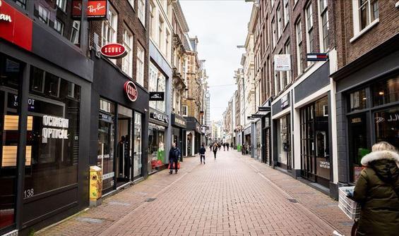 Hollanda'da ülke genelinde sokağa çıkma yasağı