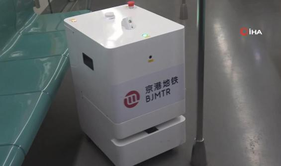 Metroların dezenfektasyonu robotlara emanet