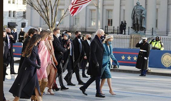 Biden, Beyaz Saray'da