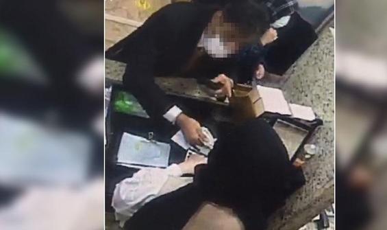 Döviz bürosundan 3 bin dolar çalan İranlı tırnakçı yakalandı