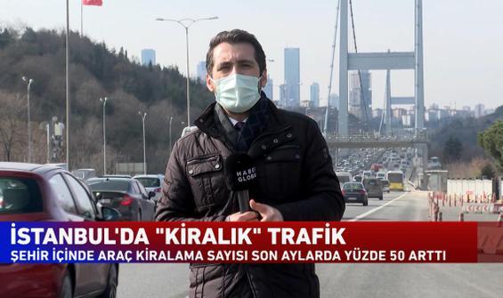 """İstanbul'da """"kiralık"""" trafik"""