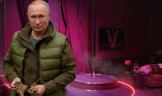Putin'in gizli sarayı ortaya çıktı! Striptiz kulübü bile var