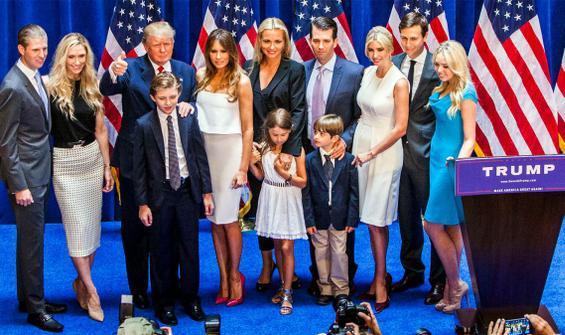 Trump'tan aile üyelerine jest! Süreyi 6 ay uzattı