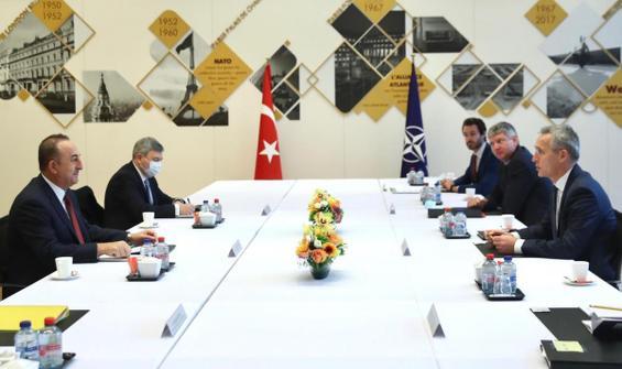 Bakan Çavuşoğlu Stoltenberg'le görüştü