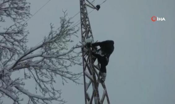 Elektriği kesilen köylüler faciaya davetiye çıkardılar