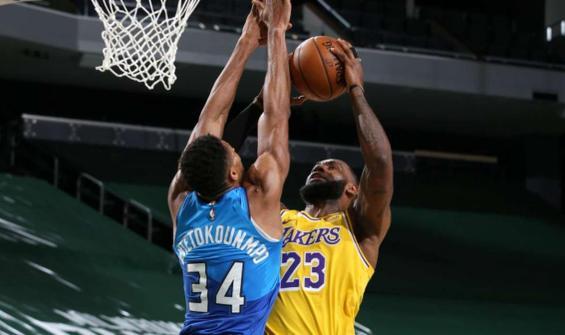 LeBron James 34 sayı attı, Lakers kazandı