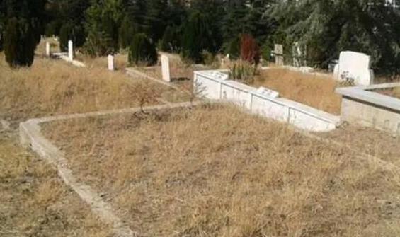 Mezarlıkta erkek cesedi bulundu!