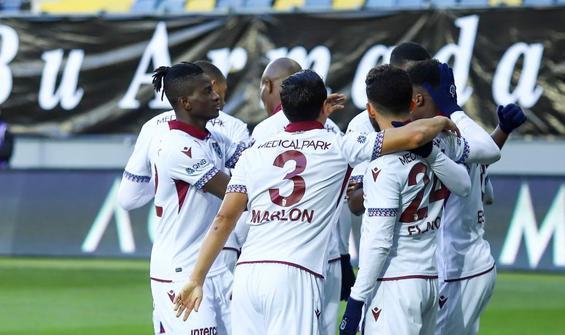 Trabzonspor, Ankara'dan 3 puanla döndü