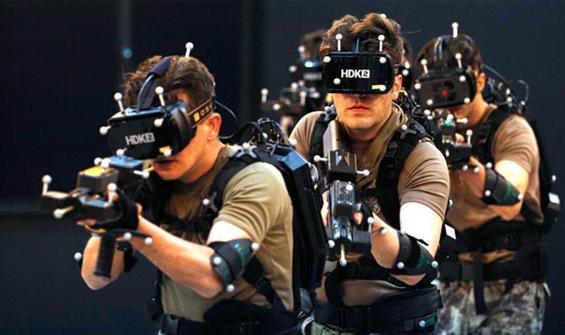 Özel harekat polislerine sanal ortamda çatışma eğitimi