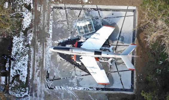 Restore edilen savaş uçağı ilk günkü ihtişamına kavuştu